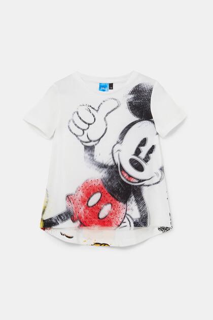 Viscose T-shirt met illustratie