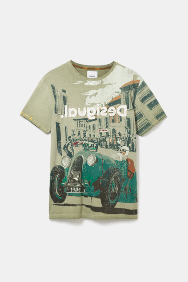 Vintage car race T-shirt | Desigual