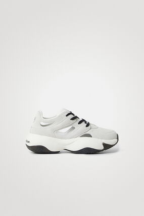 Sneakers Chunky cuir synthétique message