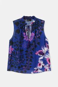 Jacquard print blouse | Desigual