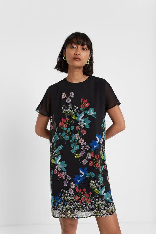 Floral flared dress | Desigual