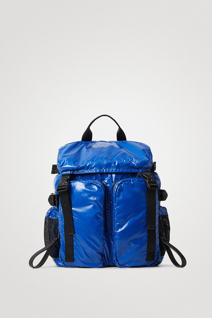 Duży pikowany plecak