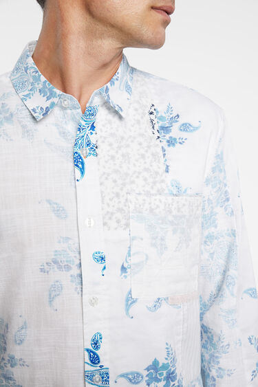Shirt paisley 100% cotton | Desigual
