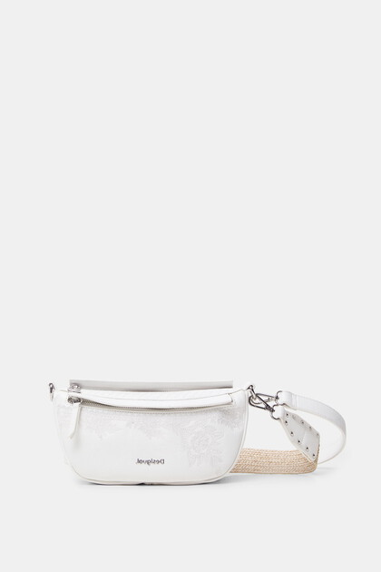 Half-moon shoulder bag