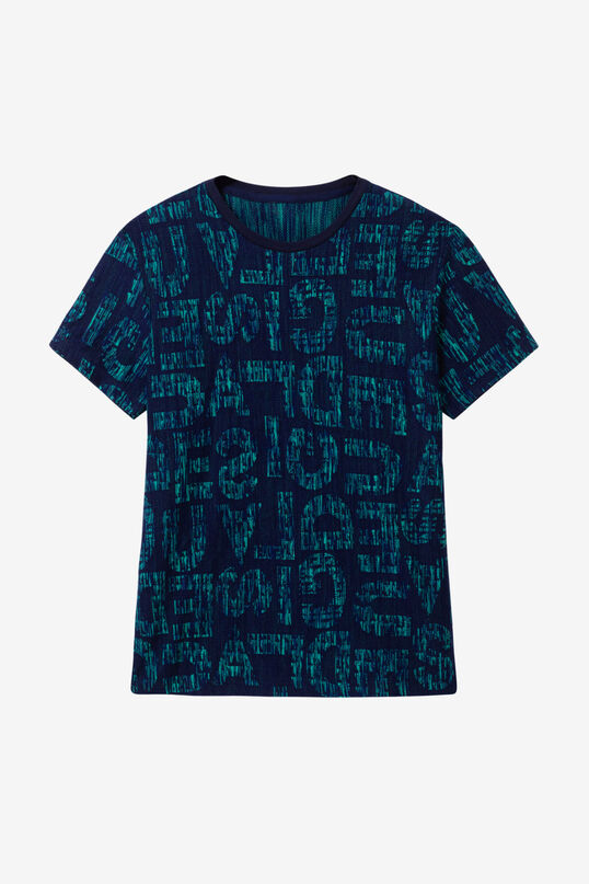 T-shirt slim logomaniaque | Desigual