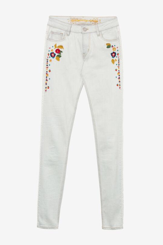 Bleached Crop Jeans Volos | Desigual