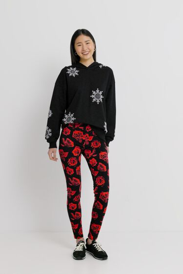 Long leggings roses | Desigual