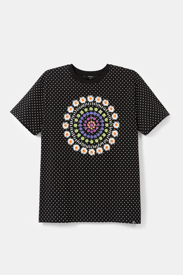 Polka dots and mandala T-shirt | Desigual