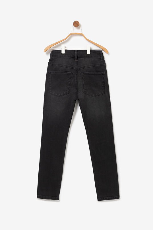 Long straight denim trousers | Desigual