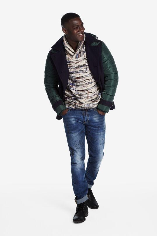 Chimney neck jumper | Desigual