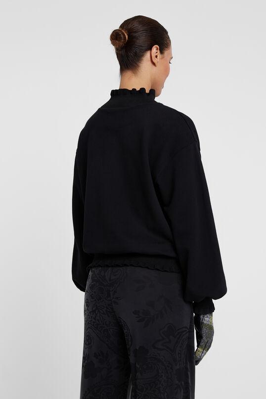 Sweater mit gewellten Details | Desigual