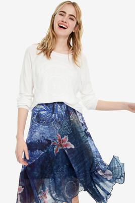 Floral skirt with stretch waist Nala
