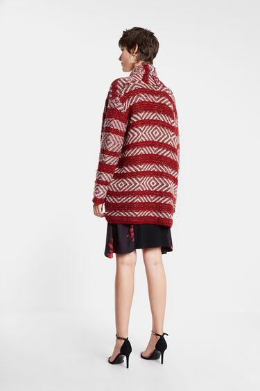 Open ethnic jumper | Desigual