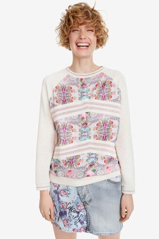 Floral sweatshirt Praga