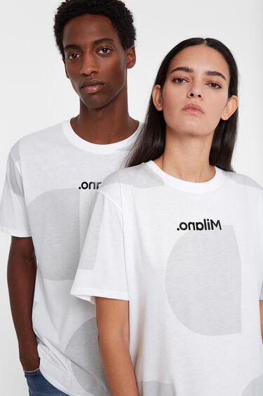 T-shirt Monogram Milan | Desigual
