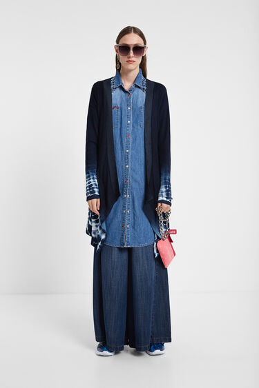 Tie-dye jumper jacket | Desigual