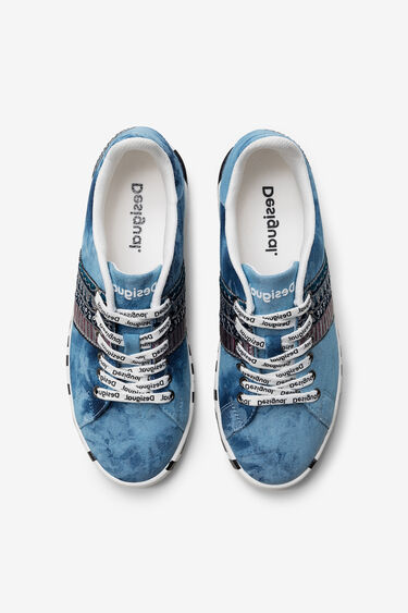 Exotic denim sneakers | Desigual