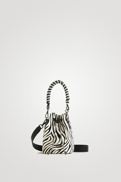 Mini-bag animal print