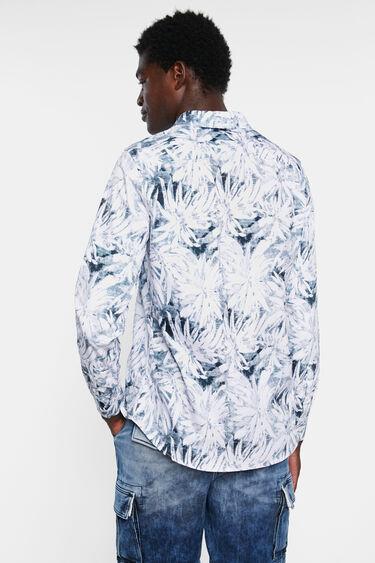 Camicia tropicale 100% cotone | Desigual