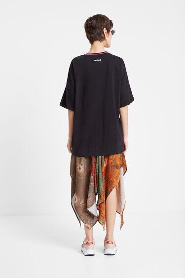 Oversize African print T-shirt   Desigual