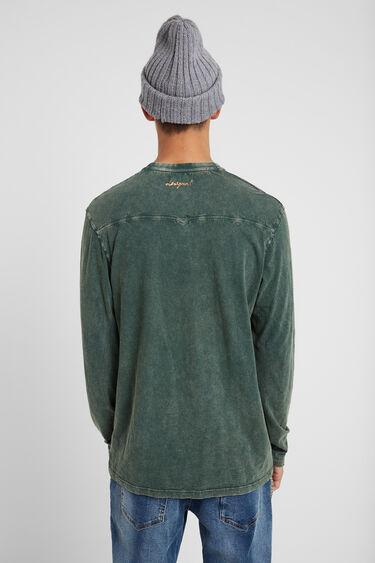 Window patch effect T-shirt | Desigual