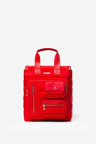 Padded Red Backpack Maldivas