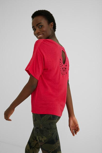 Maglietta tricot paisley
