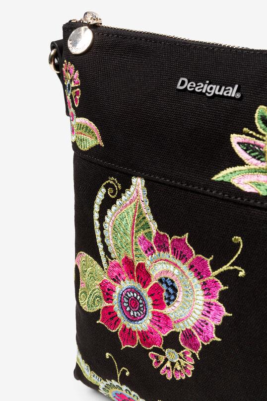 Bossa bandolera brodat floral | Desigual