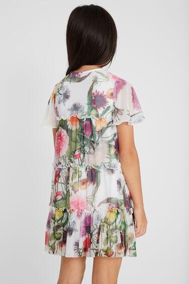 Kurzes Kleid mit Rüschen | Desigual