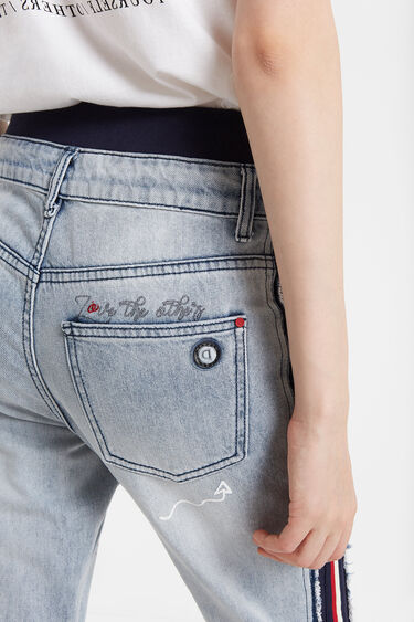 Hybrid jogger jeans | Desigual
