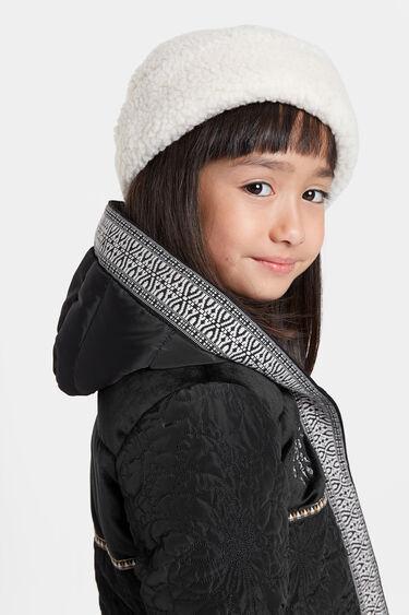 3/4 hooded jacket | Desigual