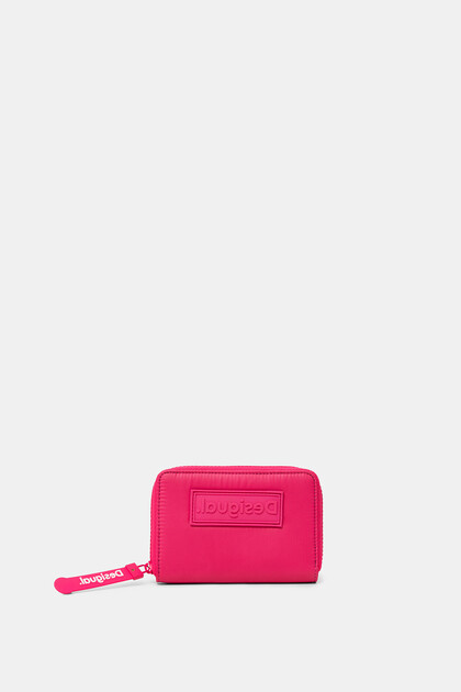 Medium wallet solid colour