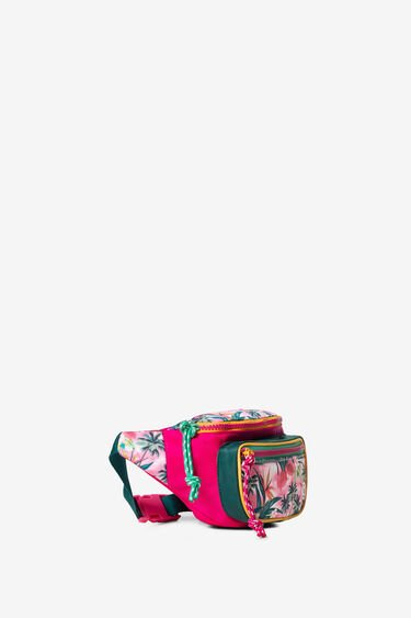 Hawaiian floral bum bag | Desigual