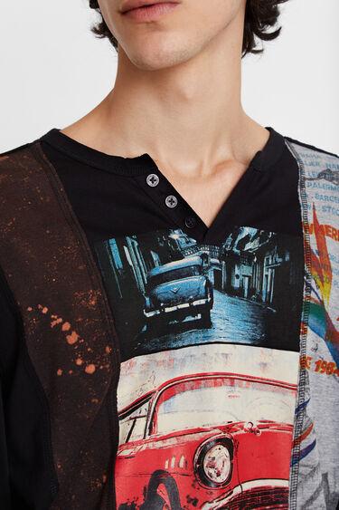 T-shirt imprimés photographiques   Desigual