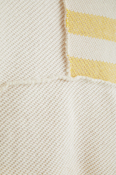 Hooded sweatshirt stripes | Desigual
