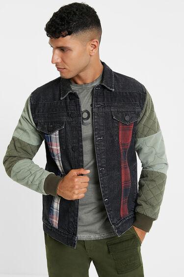 Patch denim jacket | Desigual