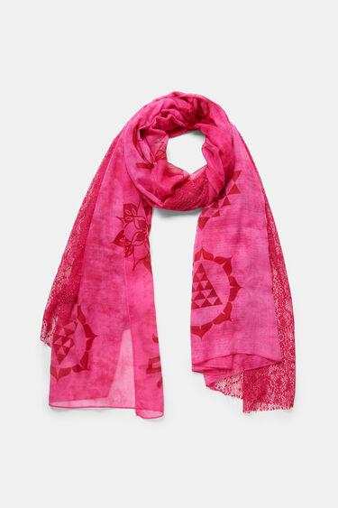Blonde lace mandalas foulard | Desigual