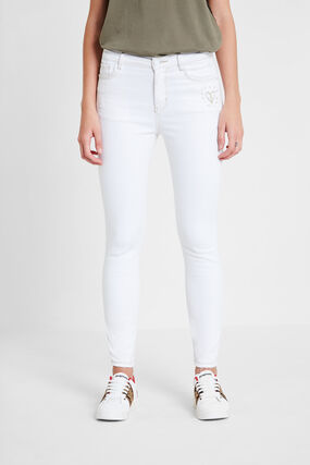 Skinny-Jeans mit Herz