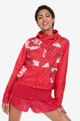 Three-in-One Red Jacket Hindi Dancer
