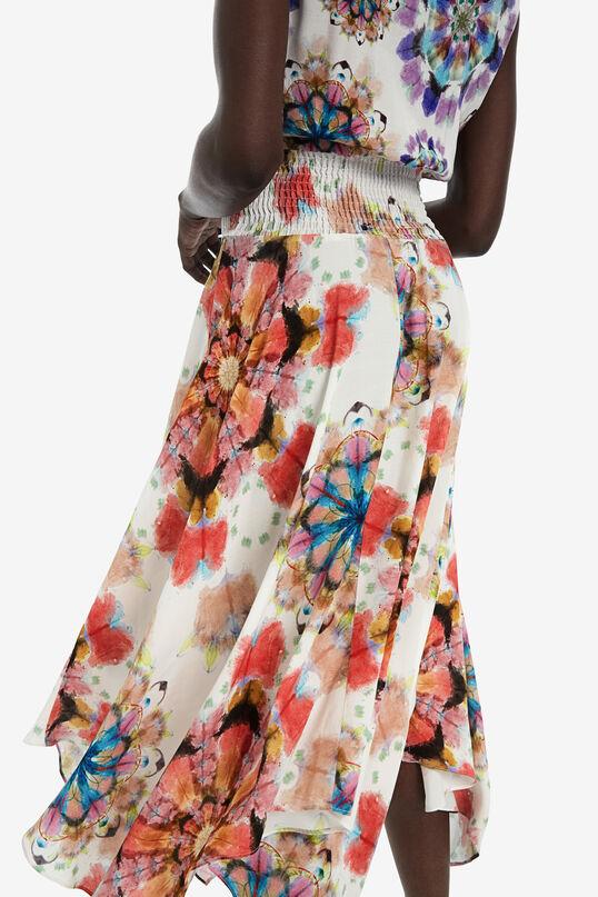 Robe asymétrique florale | Desigual
