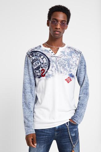 Langarmshirt aus 100% Baumwolle