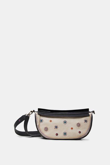 曼荼羅模様の刺繍 バッグ