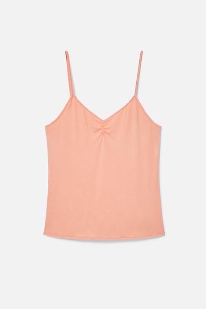 Pyjama tank top T-shirt lace