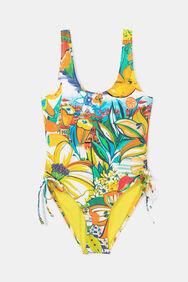 Swimsuit gathered sides   Desigual