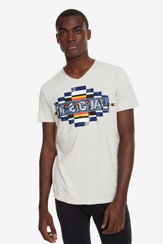 Geometric T-shirt Balthasar