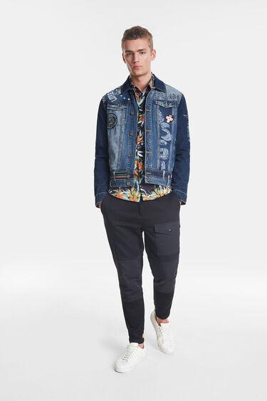 Denim jacket messages | Desigual