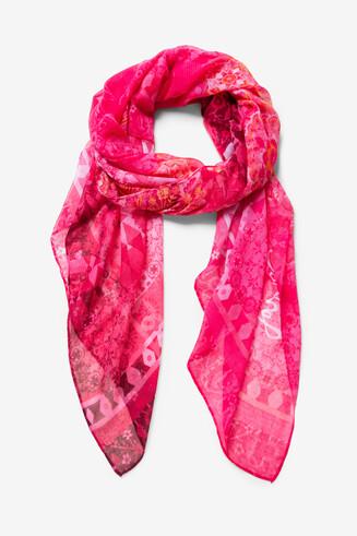 Fulard print desgastat Flirt