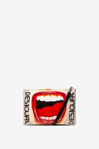 Bolso alargado labios