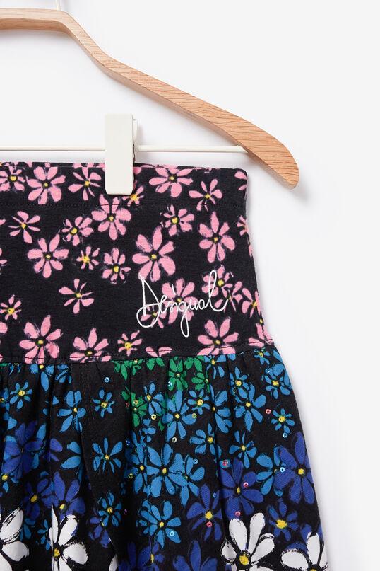 Minijupe fleurie paillettes | Desigual