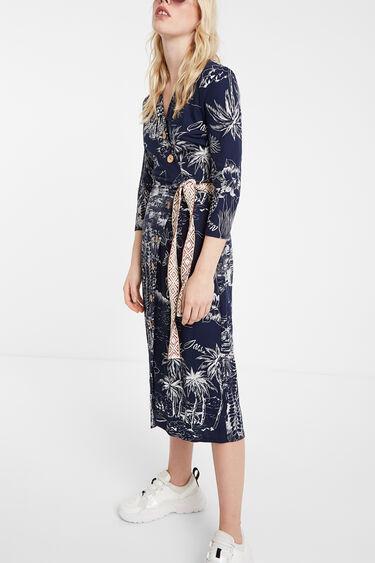 Tropical inspiration dress | Desigual